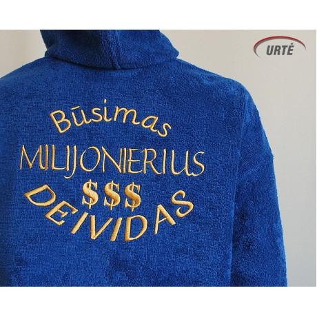 "Chalatas ""Milijonierius"""