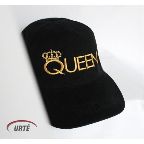 """Siuvinėta kepurėlė """"Queen"""""""