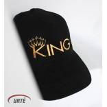 """Siuvinėta kepurėlė """"King"""""""