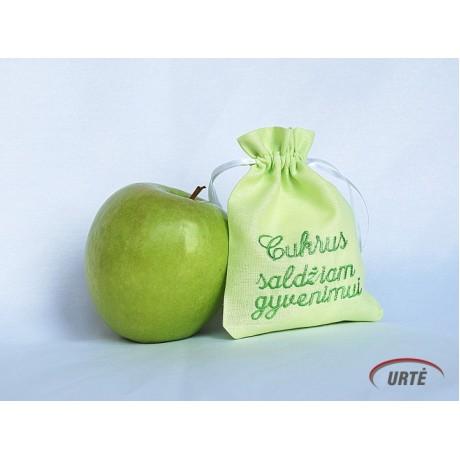 """Krikštynų maišeliai """"Salotinis obuolys"""""""