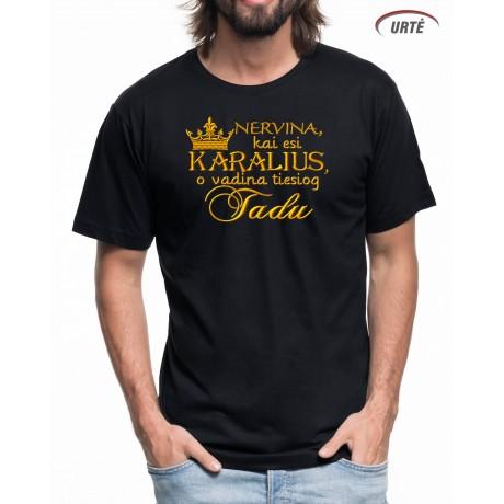 """Siuvinėti marškinėliai """"Karaliai"""""""