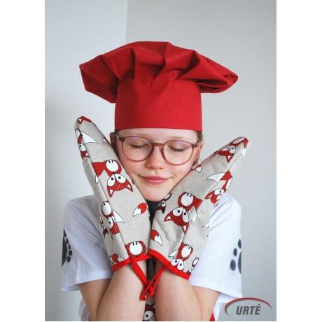 Šefo kepurė (Raudona)