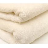 Šukuotinės medvilnės rankšluostis (ŠAMPANINĖ)
