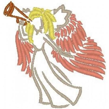 """Siuvinėtas rankšluostis """"Grojantis angelas"""""""