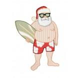 """Siuvinėtas rankšluostis """"Kalėdiniai šortai"""""""