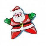 """Siuvinėtas rankšluostis """"Linksmuolis Santa"""""""