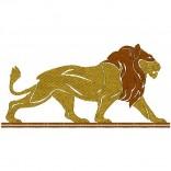 "Siuvinėtas rankšluostis Liūtas"""