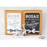 Siuvinėti rankšluosčiai Boso/Bosės dienai