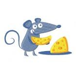 """Siuvinėtas rankšluostis """"Peliuko sūris"""""""