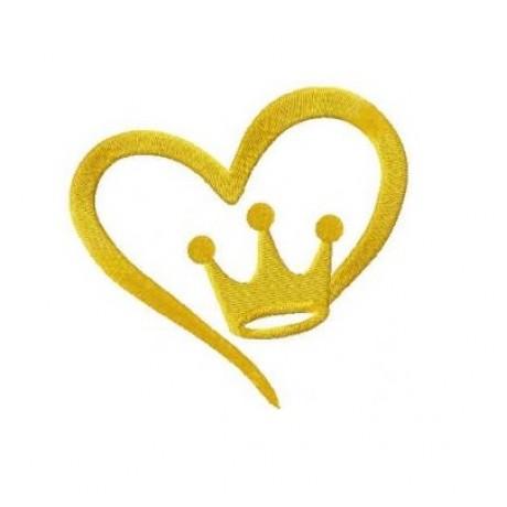 """Siuvinėtas rankšluostis """"Širdies Karaliai"""""""