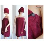 Moteriška frotinė tekstilė pirčiai